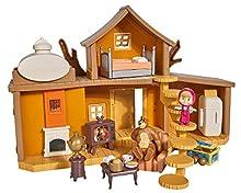 Simba- Masha Playset la Grande Casa di Orso, Multicolore, 0, 4.00659E+12