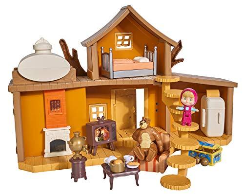 Playset Gran Casa Oso Masha Oso 2 figuras accesorios