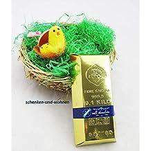 Chocolate Lingote de oro 100 g