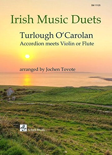 Irish Music Duets: O' Carolan: Accordion Meets Violin or Flute (Noten für Geige, Violine)