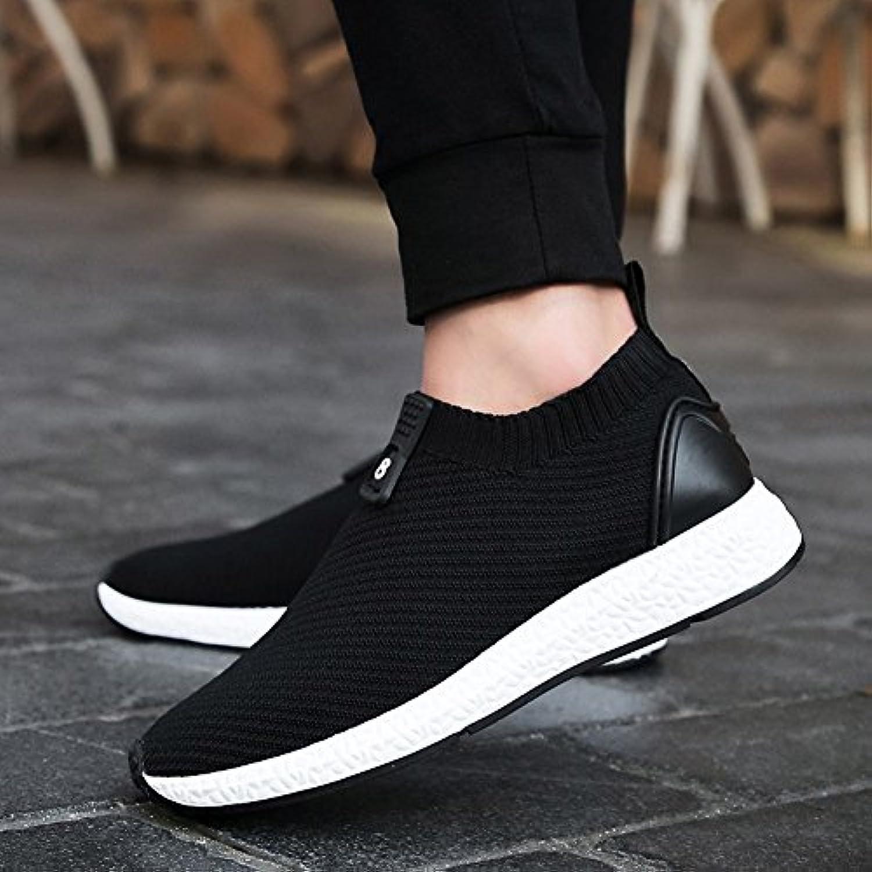 YIXINY Schuhe Herrenschuhe Net Schuhe Sport Im Freien Laufen Freizeit Atmungsaktiv Deodorant ( Farbe : Schwarz