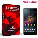 NETBOON® Premium Tempered Glass for Sony Xperia Z / Sony Xperia Z C6603 / Sony Xperia Z C6602 / Sony Xperia Z LTE - Anti Explosion, Crystal Clear Scr
