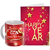 Sky Trends New Year Gifts And Merry Christmas Gifts 2018 Gifts Printed Coffee Mug With Printed Greeting Card For New Year Gifts For Friend Girlfriend Boy Friend 010