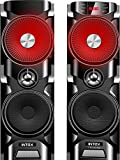Best Tower Speakers - Intex IT-TW12006FMUB 2.0 Channel Tower Speakers (Black) Review