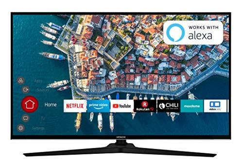 HITACHI F40E4000 102 cm (40 Zoll) Fernseher (Full HD, Smart TV, Prime Video, Works with Alexa, Bluetooth, Triple-Tuner, PVR)