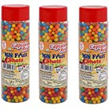 Captain Red Mixed Fruit Shots, 125g (Pack of 3)