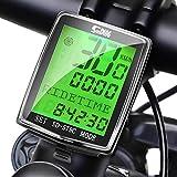 Boblov Contachilometri Bici Wireless Impermeabile Bicicletta Computer Tachimetro LCD Display con Sensore di Movimento