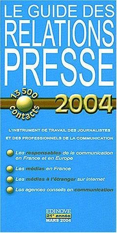 Guide des Relations Presse