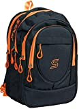 #10: SARA 30 Ltrs Orange Casual Travel laptop Backpack School bag