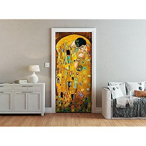 Ohpopsi Gustav Klimt, stile arte moderna, da parete/porta, multicolore
