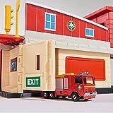 Feuerwehrmann Sam - Mini Die Cast Serie - Spiel Set Feuerwehrstation Vergleich