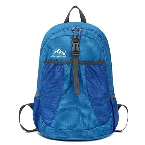 OSOPOLA groß 50L Wander Zelten Outdoor Sport innerer Rahmen Rucksack Wasserbeständigkeit Tagesrucksack Reisen Racksuck für Neu Damen Z-Hilfs-