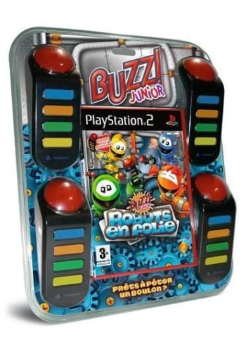Buzz Junior RoboJam inkl. 4 Buzzer für Playstation 2