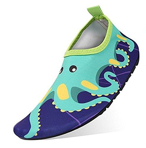 Scarpe Acqua da Scoglio bambini Ragazzi Scarpette da Bagno Mare Spiaggia Antiscivolo Scarpe da Immersione per Donna Uomo Scarpe a Piedi Nudi Dell'Acqua Scarpe Acquatici per Beach Swim Surf Yoga