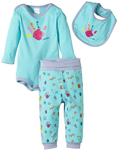 Schiesser AG Schiesser Baby - Mädchen Unterwäsche-Set Baby Set Baby - Mädchen, 3Er Pack, Gr. 74 (Herstellergröße: 074), Mehrfarbig (Sortiert 1 901)