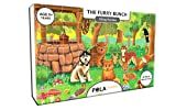 #5: Pola Puzzles The Furry Bunch Tiling Puzzles 60 Pieces For Kids Age 5 years and above Multi Color Size 36CM X 21CM Jigsaw Puzzles for Kids
