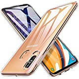 Jump Start Samsung Galaxy M40 Crystal Clear Zero Slim TPU Bumper Silicon Cushion Anti-Scratch, Anti-Yellow Silicone Transparent Back Cover Case for Samsung M40