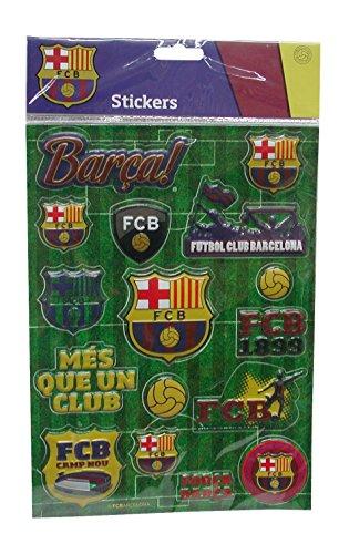 Zestaw naklejek 3D FC Barcelona