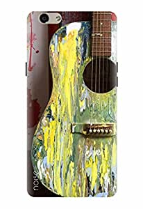 Noise Designer Printed Case / Cover for Oppo F1s / Patterns & Ethnic / Guitar Design