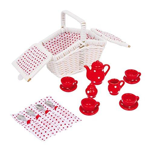 Legler 5315 - Picknickkorb Tina, 17-teilig