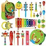 CRZKO Instrumentos Musicales para niños 22 en 1 Juguete para niños...