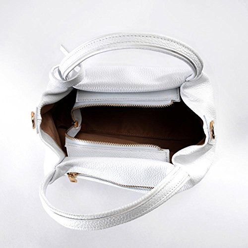 OH MY BAG Bubble, Borsa a spalla donna Compatto bianco