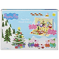 Peppa Pig 07136 - Calendario de adviento, Multicolor