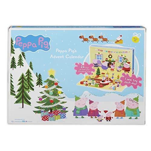 Peppa Pig 07136 Adventskalender, Mehrfarbig