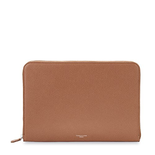 zip-around-folio-grained-leather-cognac