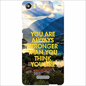 Micromax Canvas 5 E481 Back Cover - Silicon Always Stronger Designer Cases