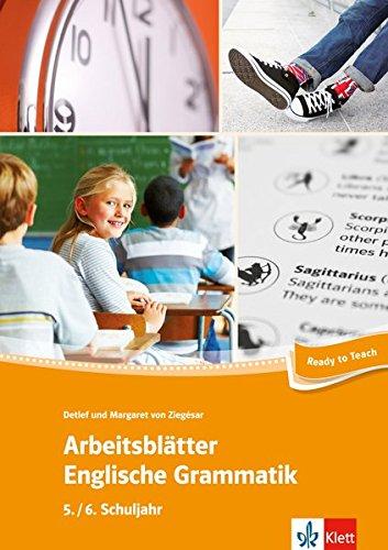 Arbeitsblätter Englische Grammatik 5./ 6. Schuljahr