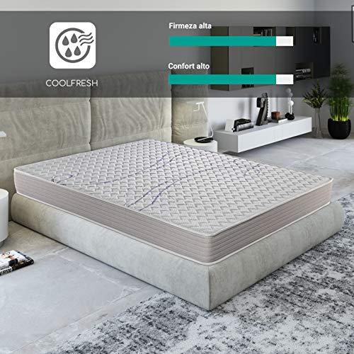 ROYAL SLEEP Colchón viscoelástico 80x190 de máxima Calidad, Confort, firmeza y adaptabilidad Alta, Altura 18cm - Colchones Xfresh Plus