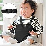 Chaise Nomade Bébé, YOHOOLYO Ceinture Chaise Haute Nomade avec Bretelles des Épaules Ajustables Utilisation Pratique à la Maison ou au Restaurant