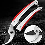 Best Flower Shears - Ciseaux De Jardinage Bypass Pruning Shears With Safety Review