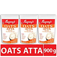 Bagrry's Oats Atta Pouch, Pack of 3 (300GM X 3
