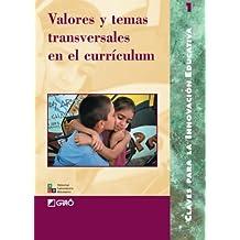 Valores Y Temas Transversales: 001 (Editorial Popular)