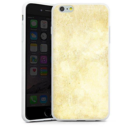 Apple iPhone X Silikon Hülle Case Schutzhülle Stein Look Muster Wand Silikon Case weiß