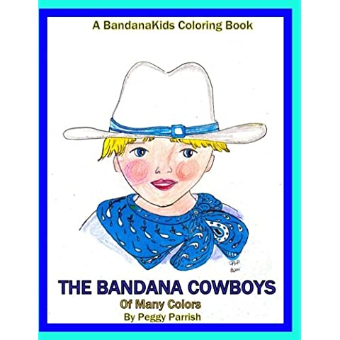The Bandana Cowboys Coloring Book