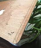 Wood Skin Case nouvel macBook air 13 '/Pro Retina 13'/Pro 13 (2016) de bois Royal Merisier/érable