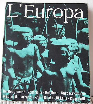L'Europa De Rougemont Ventriglia Del Noce Anno IV n. 22/23 30 settembre 1970 A07