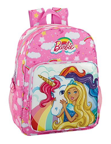 Barbie 2018 Sac à dos loisir, 42 cm, 19 liters, Rose...