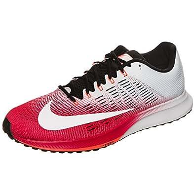 Nike Air Zoom Elite 9Scarpa da Corsa da Uomo, Bianco/Rosso