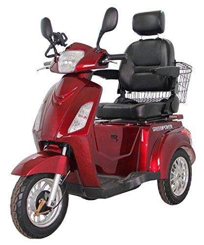 GreenPower - Ciclomotor eléctrico con 3 ruedas