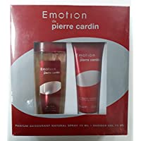 Pierre Cardin Emotion Desodorante Perfumado 75 ml + Shower Gel 75 ml