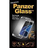 PanzerGlass 1052  - Protector de pantalla para Galaxy S7 Edge, Plata