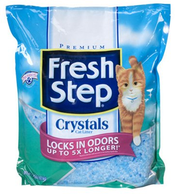 CLOROX COMPANY, THE - Cat Litter, Crystals, 4-Lbs.