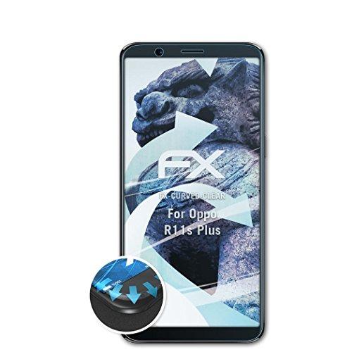 Preisvergleich Produktbild atFolix Schutzfolie passend für Oppo R11s Plus Folie,  ultraklare und Flexible FX Displayschutzfolie (3X)