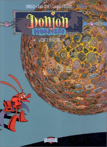 Donjon monsters, tome 3 : La Carte majeure