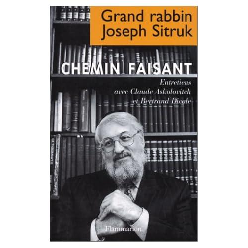 CHEMIN FAISANT. Entretiens avec Claude Askolovitch et Bertrand Dicale