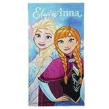 Disney Eiskönigin 2200-1427 Badetuch, Handtuch, Strandtuch, Baumwolle, Elsa, Anna, Frozen
